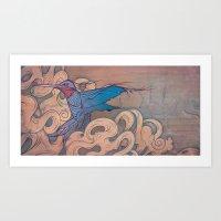 The Aerialist Art Print
