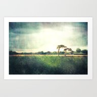 Art Print featuring Fishbourne Two by The Last Sparrow