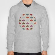 Fish Pattern Hoody