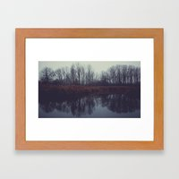 the trees II Framed Art Print