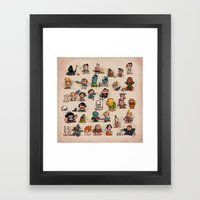 Tiny Adventures Framed Art Print