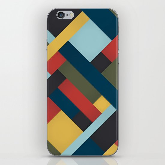 Abstrakt Adventure iPhone & iPod Skin