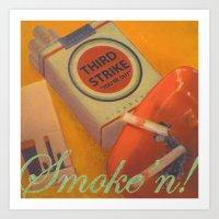 Smoke 'n Art Print