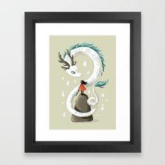 Dragon Spirit Framed Art Print