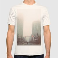 Two Davids - Detroit, MI Mens Fitted Tee Natural SMALL