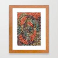 Ink Pattern no.2 Framed Art Print