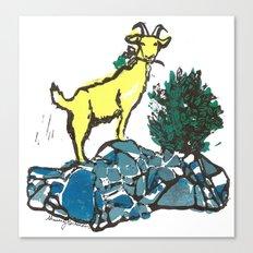Goatie McGoatersons (colored version) Canvas Print