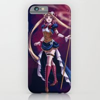 iPhone & iPod Case featuring Steampunk Pretty Soldier by Brianna