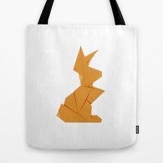 Origami Hare Tote Bag