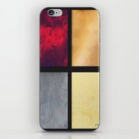 Four Squares 001 iPhone & iPod Skin