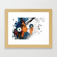 birth of a tune Framed Art Print