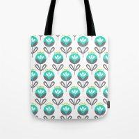 Pop Flora Tote Bag