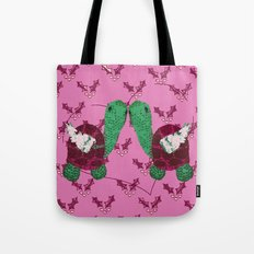 Two Turtle Doves - 12 Days of Christmas Series Tote Bag