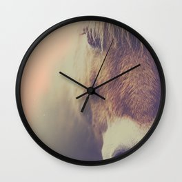 Wall Clock - The curious girl - HappyMelvin