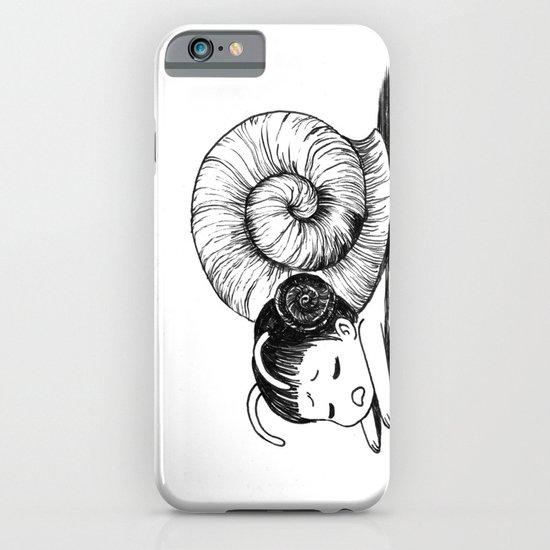 Snail girl iPhone & iPod Case