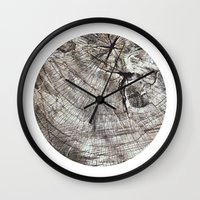 Planetary Bodies - Tree Wall Clock