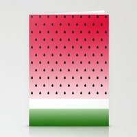 Juicy Watermelon Stationery Cards