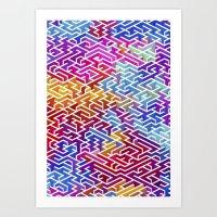 Labyrinth II Art Print