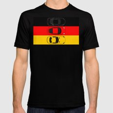 German Horsepower Mens Fitted Tee Black SMALL