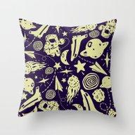 Spacely Throw Pillow