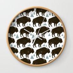 Follow The Herd Wall Clock