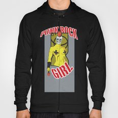Punk rock Girl Hoody