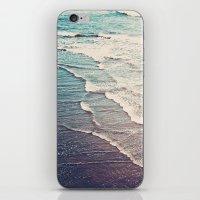 Ocean Waves Retro iPhone & iPod Skin