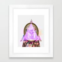 Mirror mirror on the wall who's the fairest of them all Framed Art Print