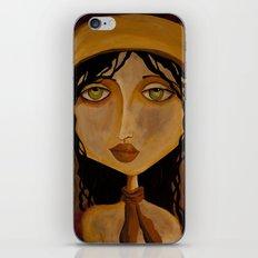 Pilot Girl iPhone & iPod Skin