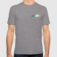 Get Alife Mens Fitted Tee Tri-Grey SMALL