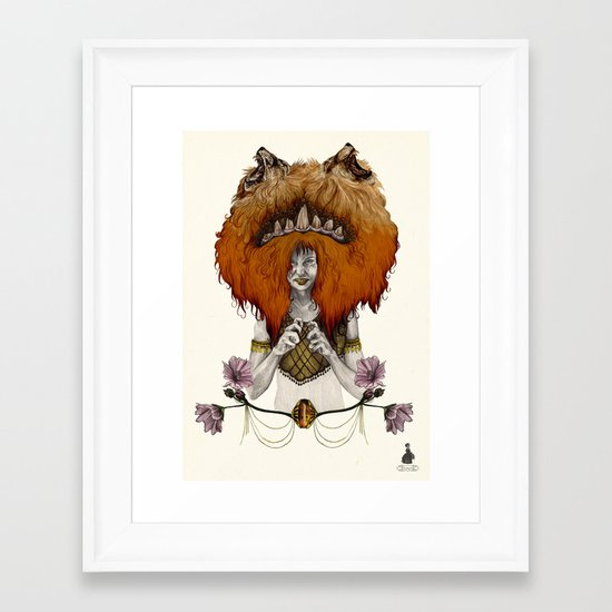 L  E  O [in colour] Framed Art Print