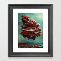 Mother ship  Framed Art Print