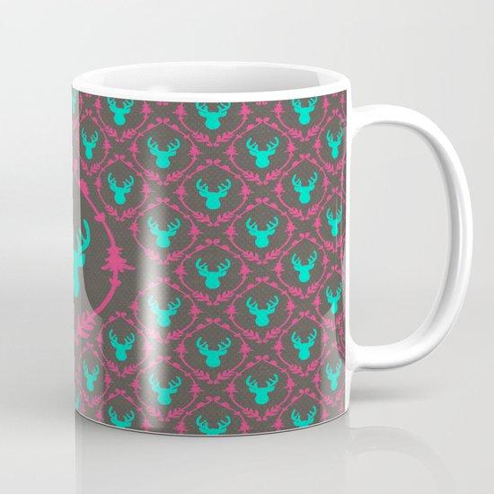 Oh Deer (teal dark) Mug