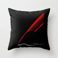 SilveRed Throw Pillow