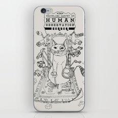 Traveling Carpet of Human Observation Center iPhone & iPod Skin