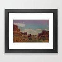Utah Exploring Framed Art Print