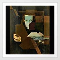 Marie V2 Bronzino Art Print