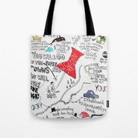 Paper towns, John Green Tote Bag