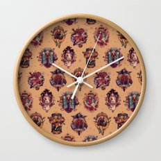 All Those Bright and Shining Companions Wall Clock