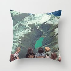 FIELD TRIP Throw Pillow