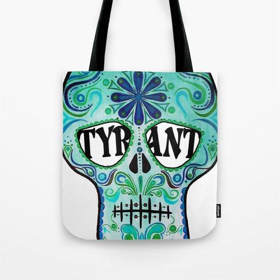 "TYRANT ""Sugar Skull"" Tote Bag"