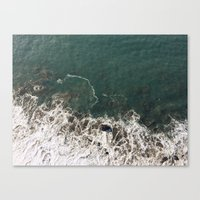 Wave Crash Canvas Print