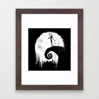 All Hallow's Eve Framed Art Print