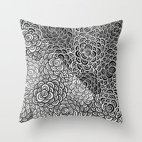 Double Scallop Bomb Throw Pillow