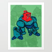 robot1 Art Print