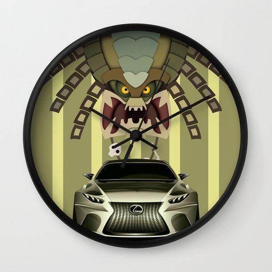 Lexus vs Predator Wall Clock