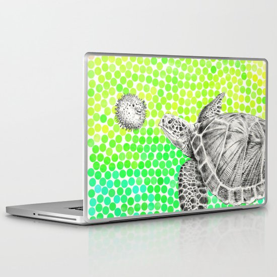 New Friends 1 by Eric Fan and Garima Dhawan Laptop & iPad Skin