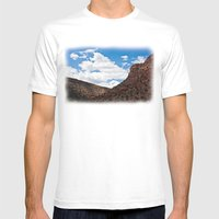 Arizonan Landscape 1 Mens Fitted Tee White SMALL