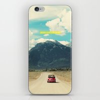 NEVER STOP EXPLORING III iPhone & iPod Skin