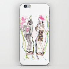 And Then He Kissed Me 2 iPhone & iPod Skin